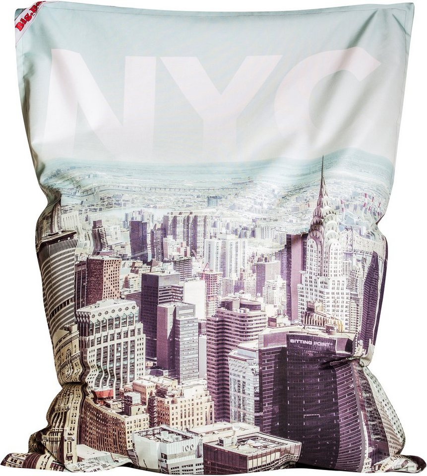 Sitzsack »Big Bag NYC« in bunt