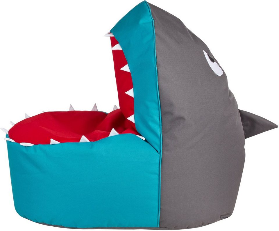 Sitzsack »Shark Brava« in anthrazit