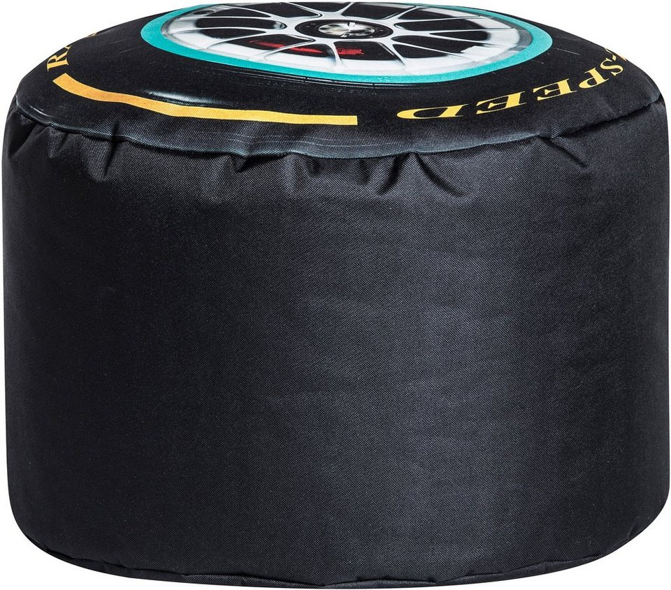 Sitzsack »Speed Dot Com« in schwarz