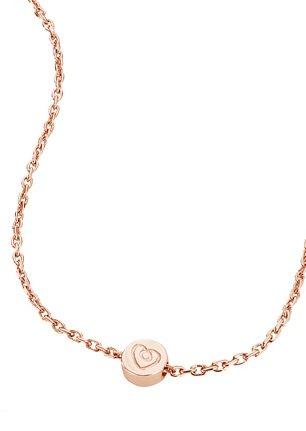 Kette, »C7048N/90/00/43«, caï love in Silber 925/ roségoldfarben vergoldet