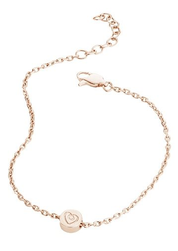 Armband, »C7048B/90/00/19«, caï love in Silber 925/roségoldfarben vergoldet