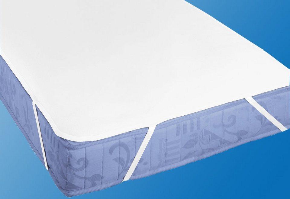 Matratzenauflage, »Molton Premium mit Silberausrüstung«, Biberna