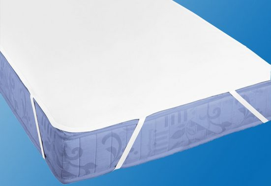 Matratzenauflage »Molton Premium mit Silberausrüstung«, Biberna, Baumwolle