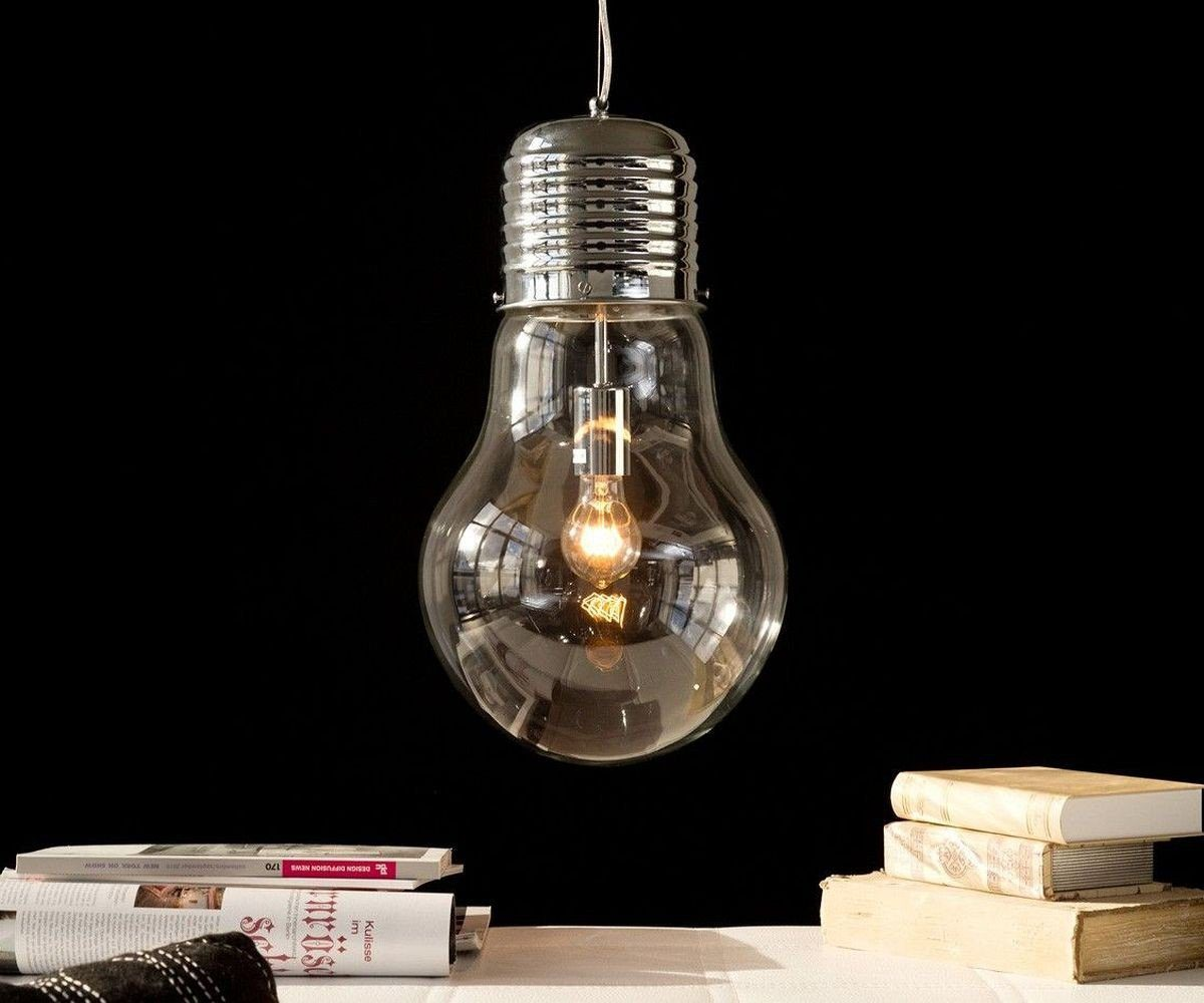 DELIFE Leuchte Bulb Deluxe Transparent 30 cm
