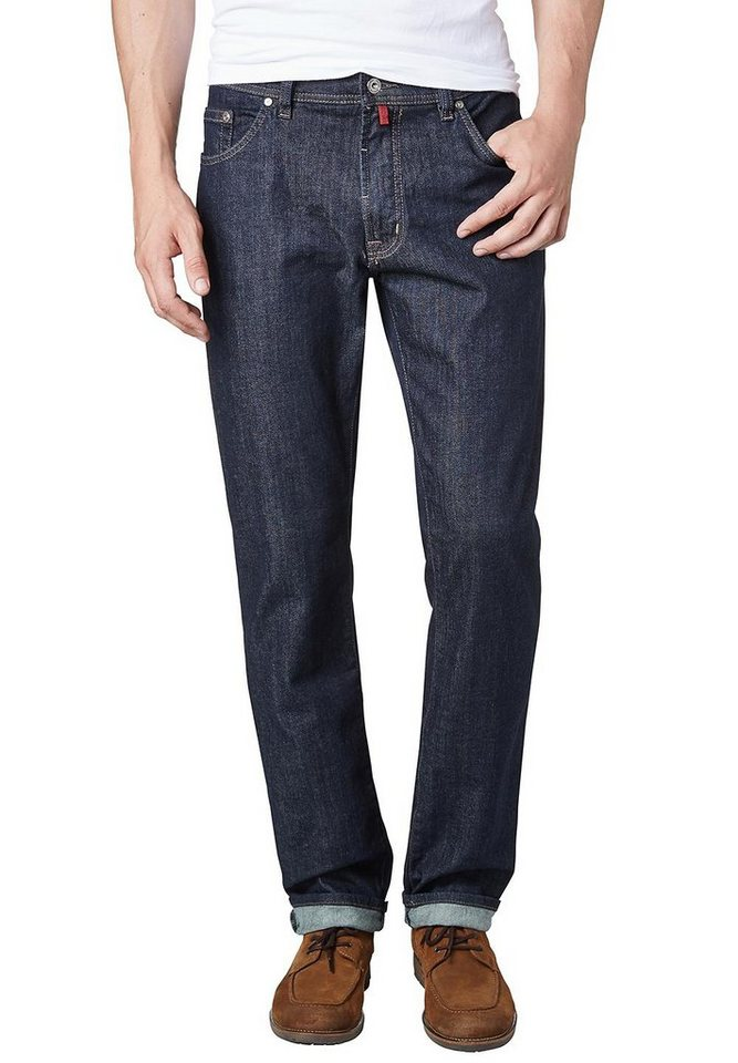 PIERRE CARDIN Jeans - Regular Fit »Deauville« in RINSE WASHED