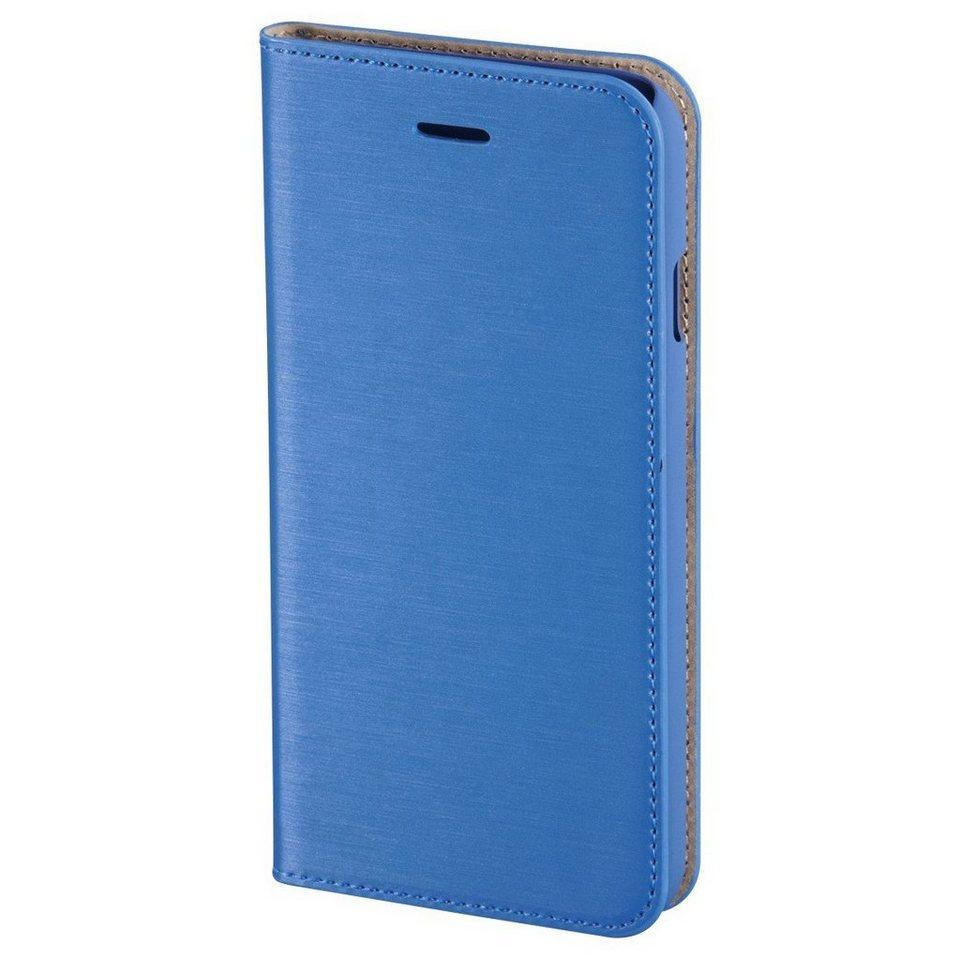 Hama Booklet Slim für Apple iPhone 6 Plus, Ozeanblau in Blau