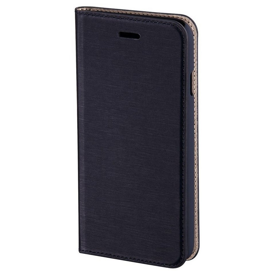 Hama Booklet Slim für Apple iPhone 6 Plus, Navy in Blau