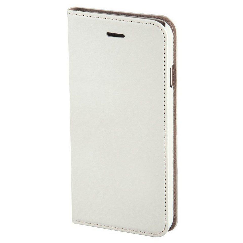 Hama Booklet Slim für Apple iPhone 6 Plus, Weiß in Weiß