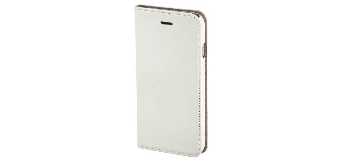 Hama Booklet Slim für Apple iPhone 6 Plus, Weiß