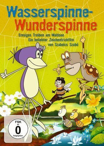 DVD »Wasserspinne - Wunderspinne«