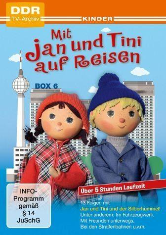 DVD »Mit Jan und Tini auf Reisen, Box 6 (2 Discs)«