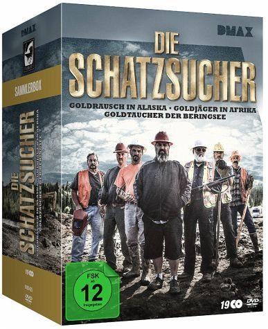 DVD »Die Schatzsucher - Goldrausch-Sammler-Box (19...«