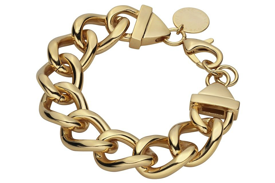 Armband in goldfarben