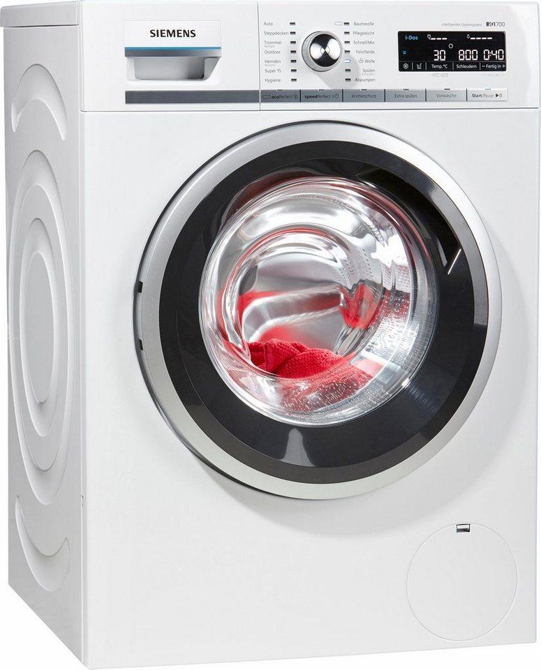 SIEMENS Waschmaschine WM14W6ECO i-Dos, A+++, 8 kg, 1400 U/Min