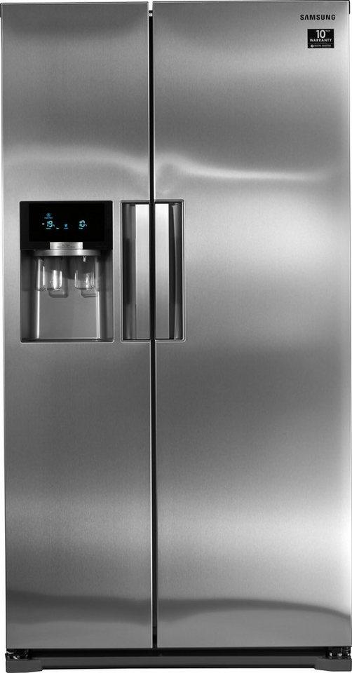 Kühlschränke samsung  Samsung Side-by-Side RS5500 RS54HDRPBSL/EF, A+++, 178,9 cm hoch ...