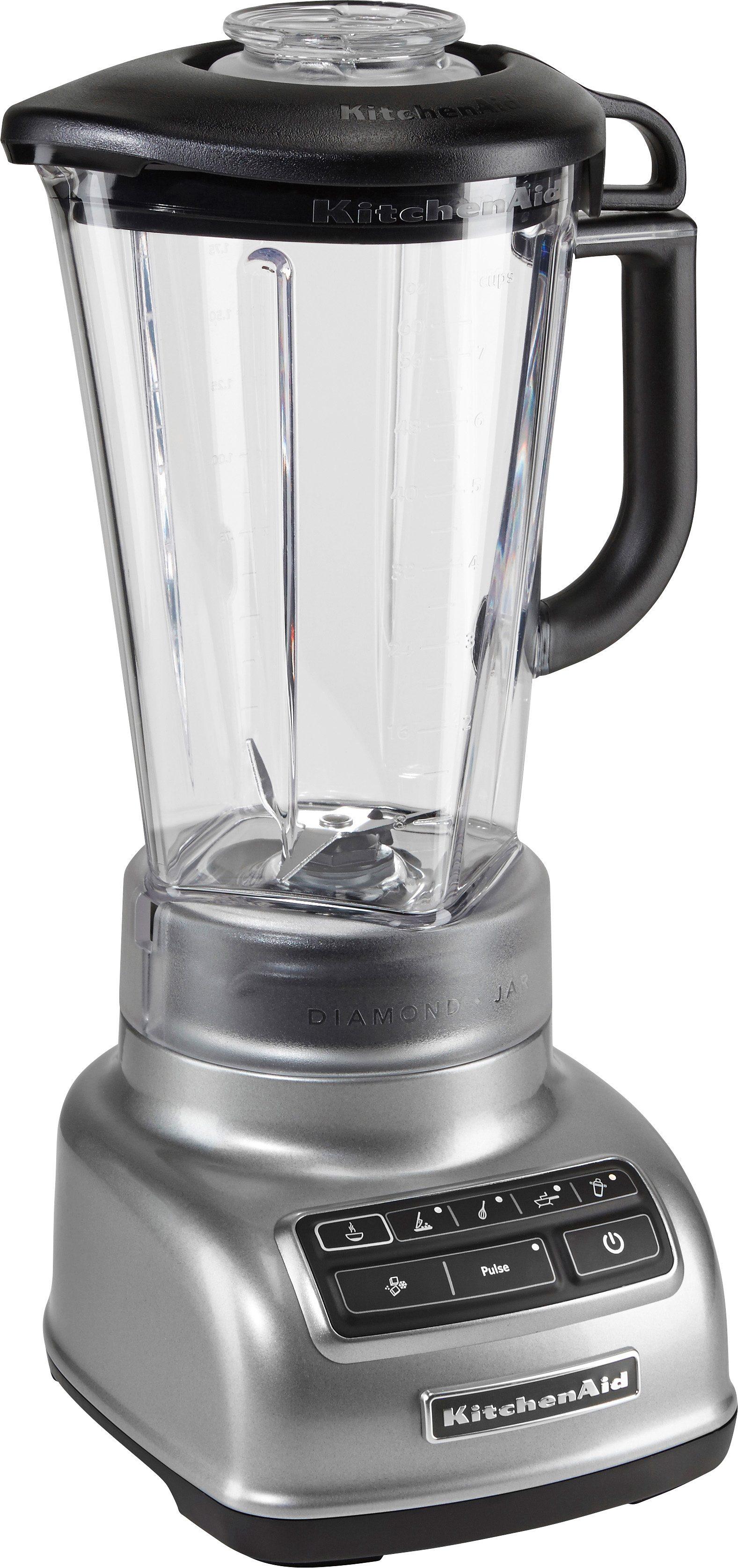 KitchenAid Standmixer 5KSB1585ECU, 550 Watt, Stufenlos, contur silber