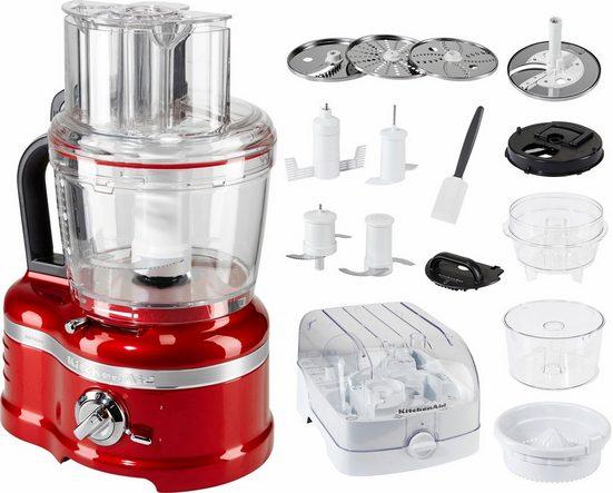 KitchenAid Kompakt-Küchenmaschine Artisan 5KFP1644ECA, 650 W, 4 l Schüssel, mit umfangreichem Zubehör