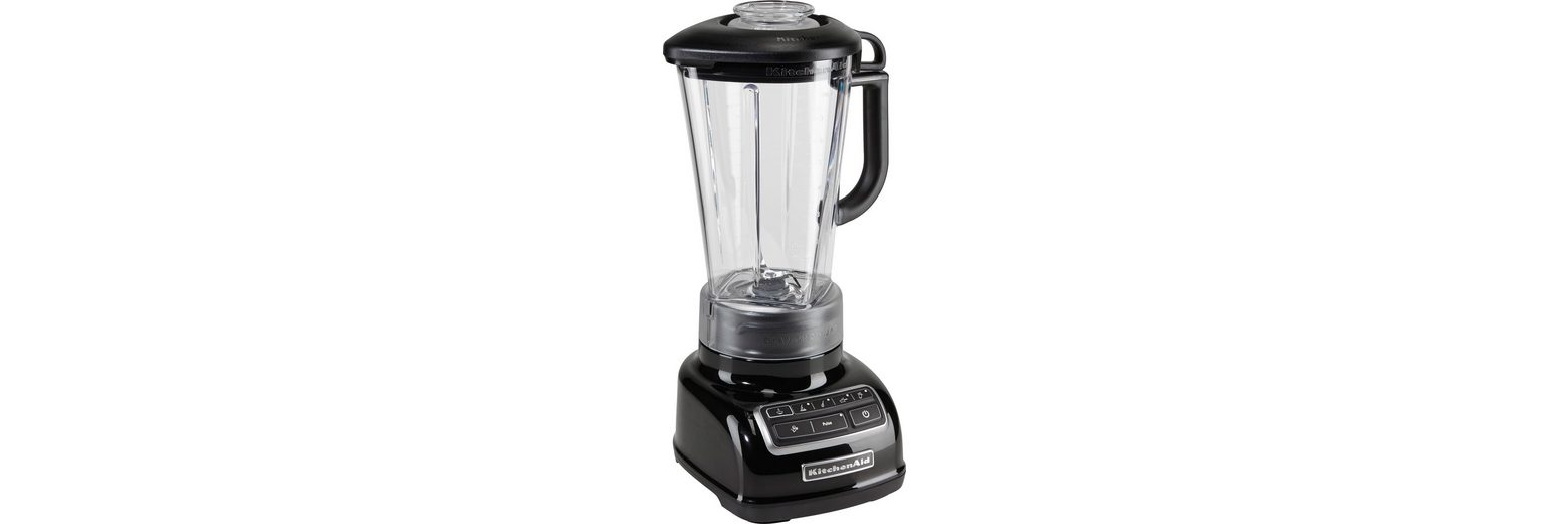 KitchenAid Standmixer 5KSB1585EOB, 550 Watt, Stufenlos, onyx schwarz