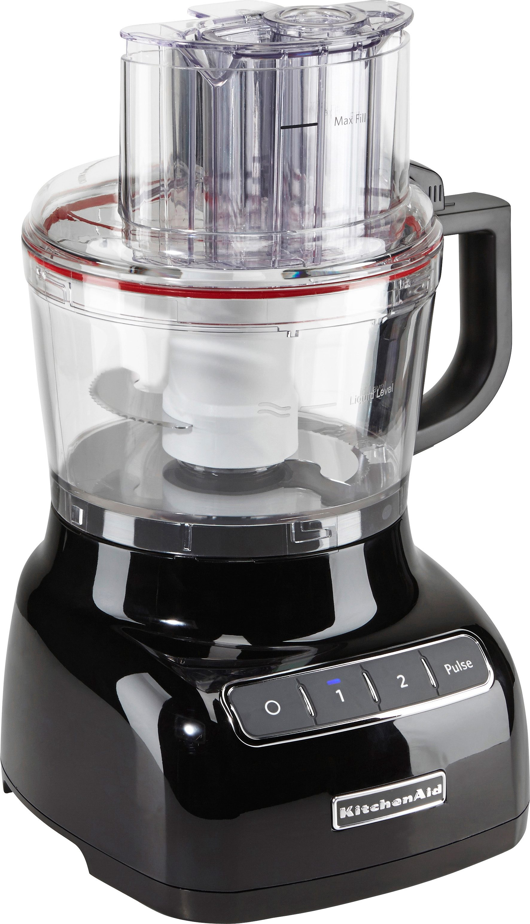KitchenAid Artisan Food Processor 5KFP0925EOB, 2,1 Liter, onyx schwarz