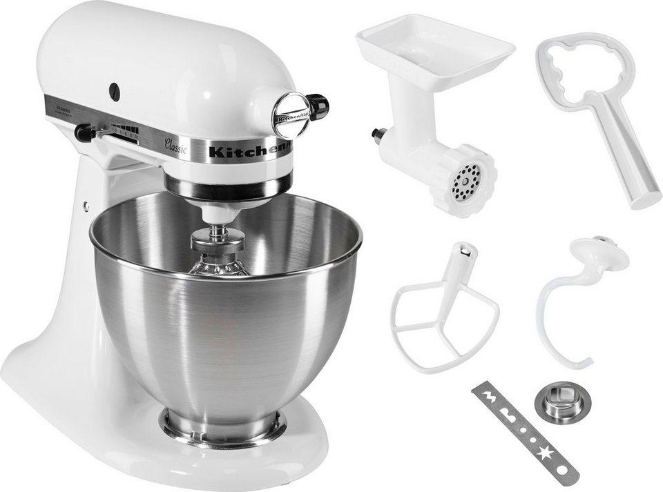 KitchenAid u00ae Küchenmaschine Classic 5K45SS EWH inkl Sonderzubehör im Wert von ca 90, Euro