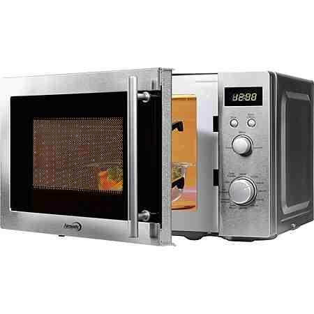 hanseatic Premium-Line Mikrowelle, mit Grillfunktion, 20 Liter Garraum, 800 Watt