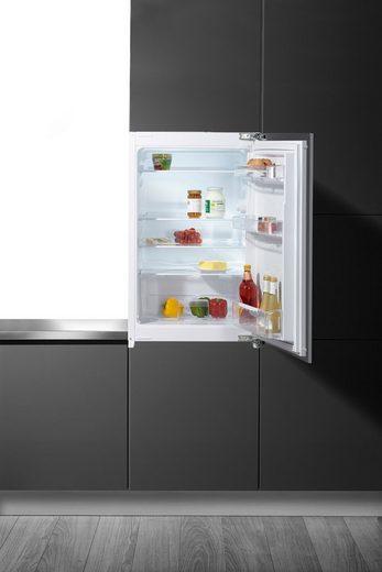 BEKO Einbaukühlschrank B 1802 F, 86 cm hoch, 54 cm breit, mit antibakterieller Türdichtung
