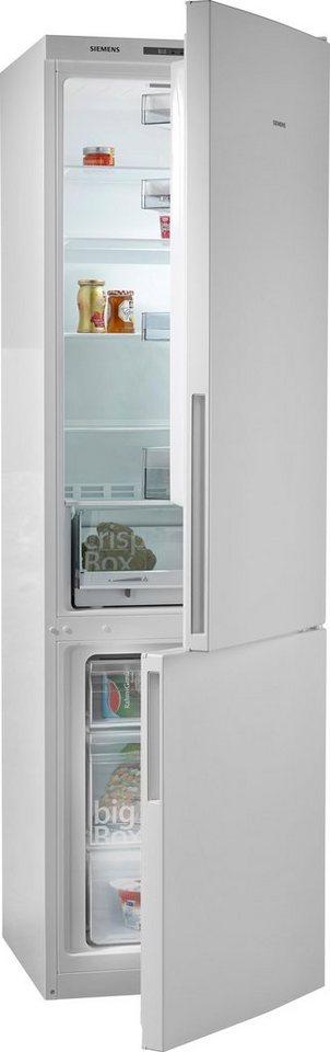 Siemens Kühl-Gefrierkombination KG39VUW30, A++, 200 cm hoch in weiß