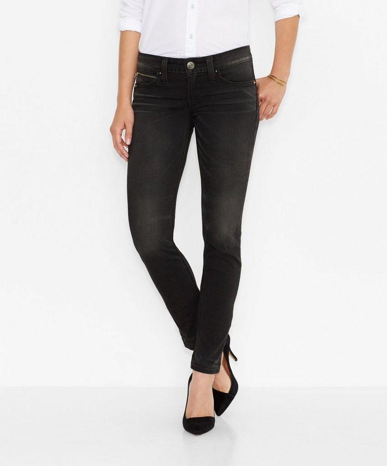 Levi's® Jeans »Low Revel Demi Curve Skinny Jeans« in MIDNIGHT BLACK