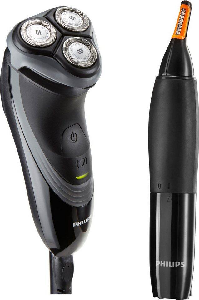 Philips Elektrischer Trockenrasierer PT727/80 in schwarz/grau
