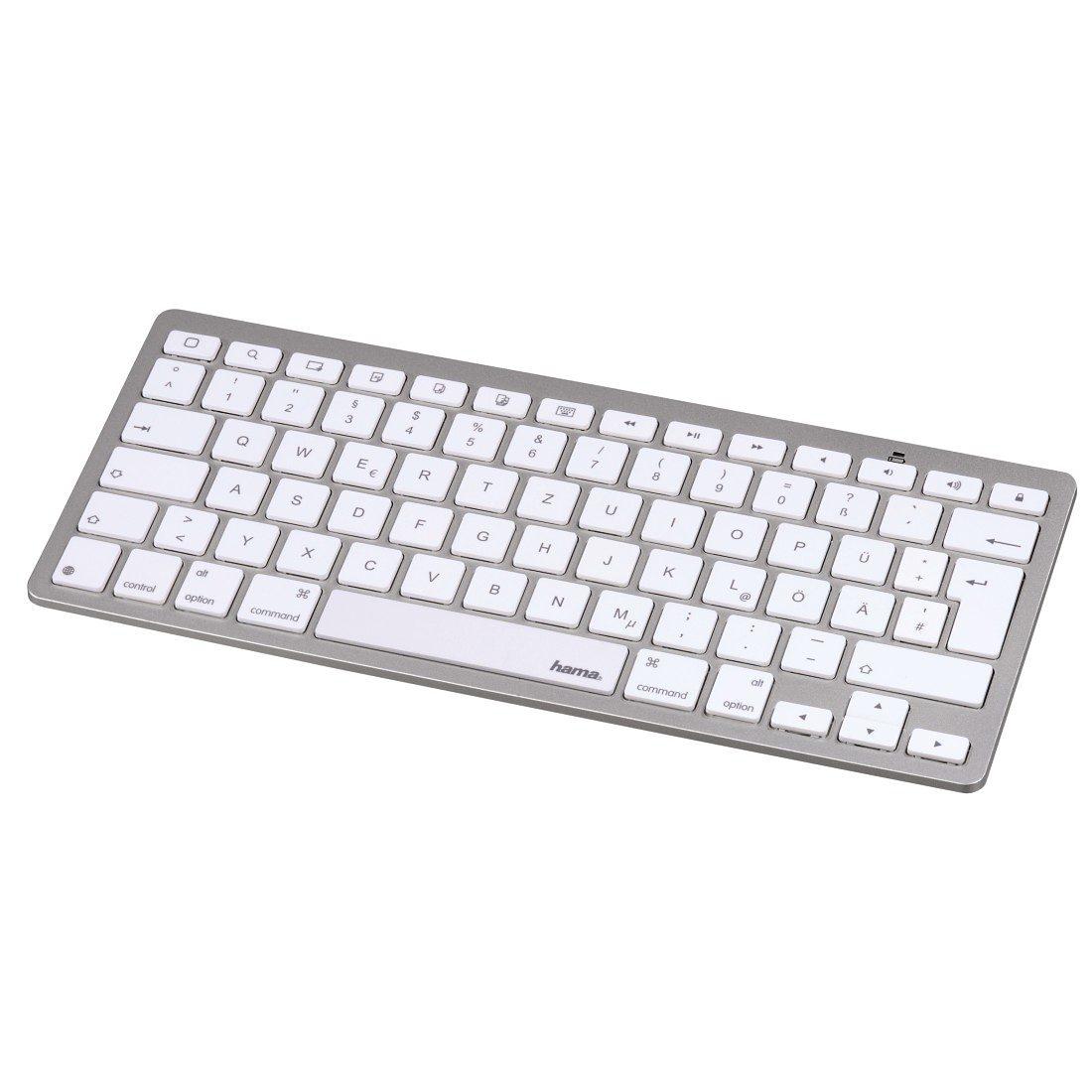 Hama Bluetooth-Tastatur KEY2GO X500 für Apple iOS