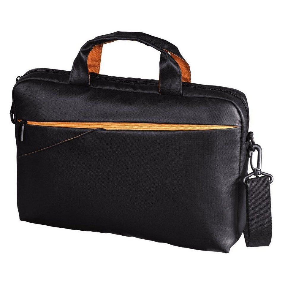 Hama Notebook-Tasche Almere Style, bis 30 cm (11,6), Schwarz in Schwarz