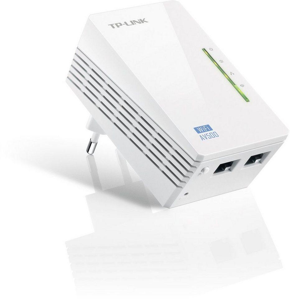 TP-Link Powerline »TL-WPA4220 - AV500 (2x LAN)« in Weiß