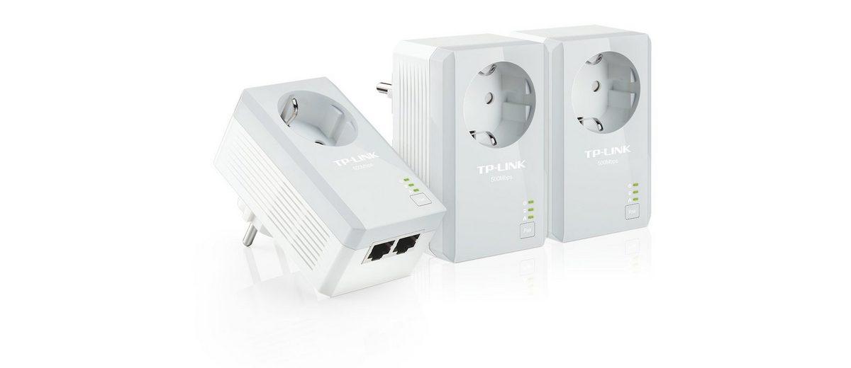 TP-Link Powerline »TL-PA4020P TKIT - AV500+ (3er KIT, 2x LAN)«