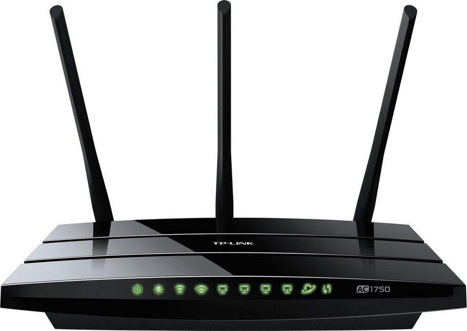TP-Link Router »Archer C7 - AC1750 Dualband« in Schwarz