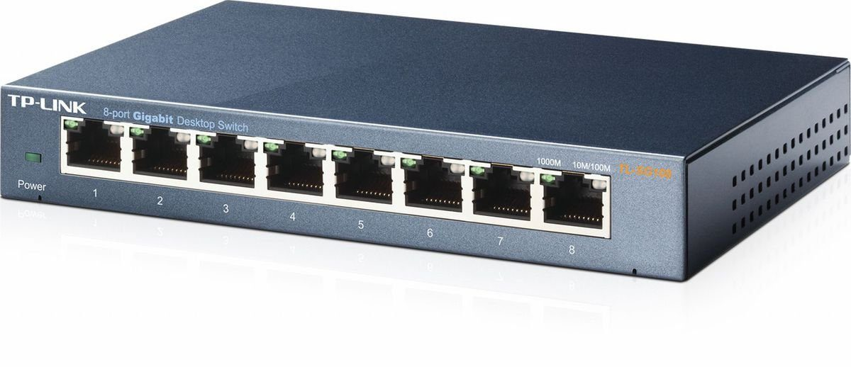 TP-Link Switch »TL-SG108 - 8-Port Gigabit«