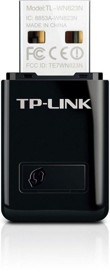 TP-Link WLAN-Stick »TL-WN823N - N300 WLAN (Mini)« in Schwarz