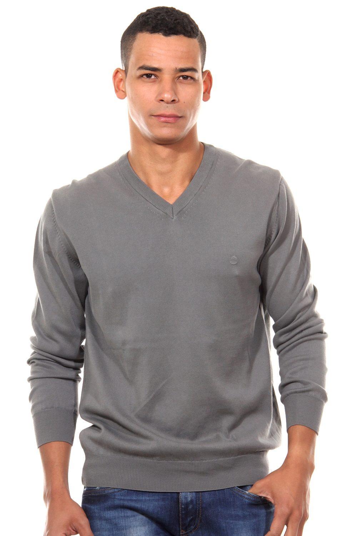CAZADOR Pullover V-Ausschnitt regular fit