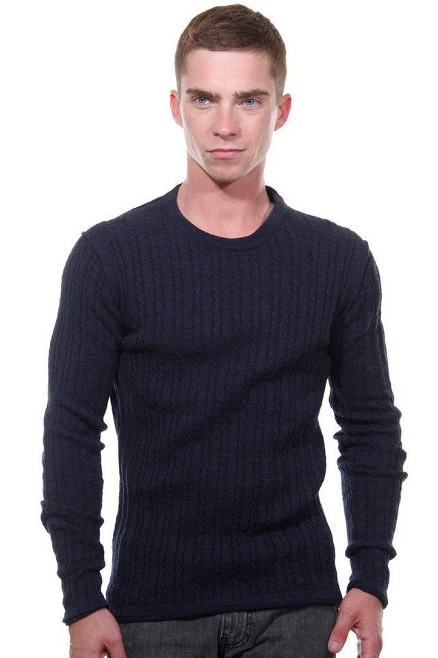 OBOY Streetwear Pullover Rundhals regular fit in marine