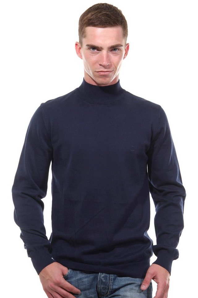 CAZADOR Rollkragenpullover regular fit in navy