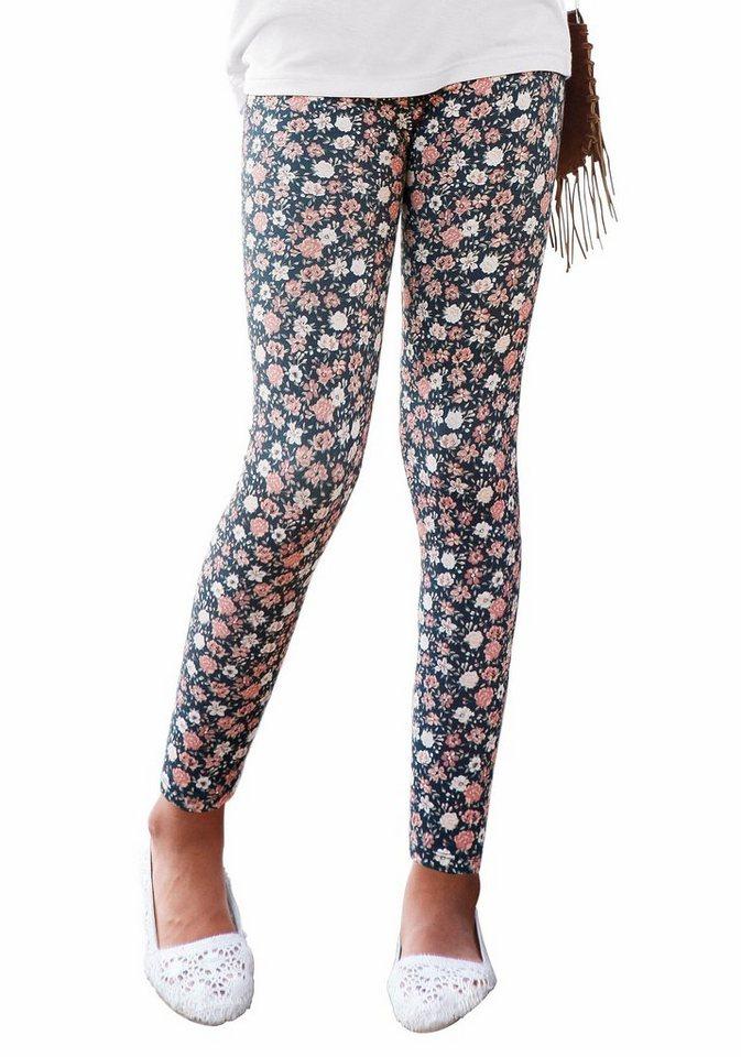 arizona leggings mit blumenmuster online kaufen otto. Black Bedroom Furniture Sets. Home Design Ideas