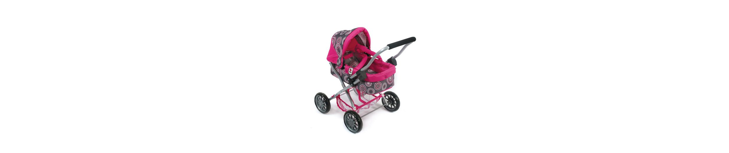 CHIC2000, Puppenwagen »Smarty, Hot pink pearls«