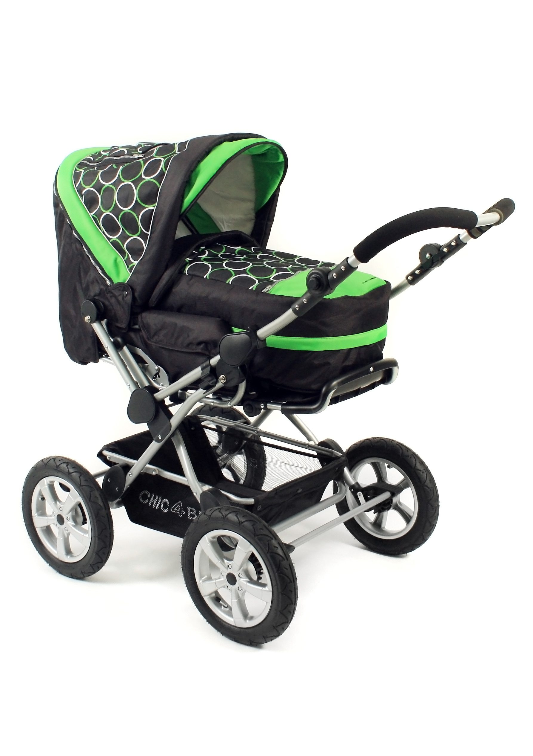CHIC4BABY, Kombi-Kinderwagen »Viva, Orbit green«