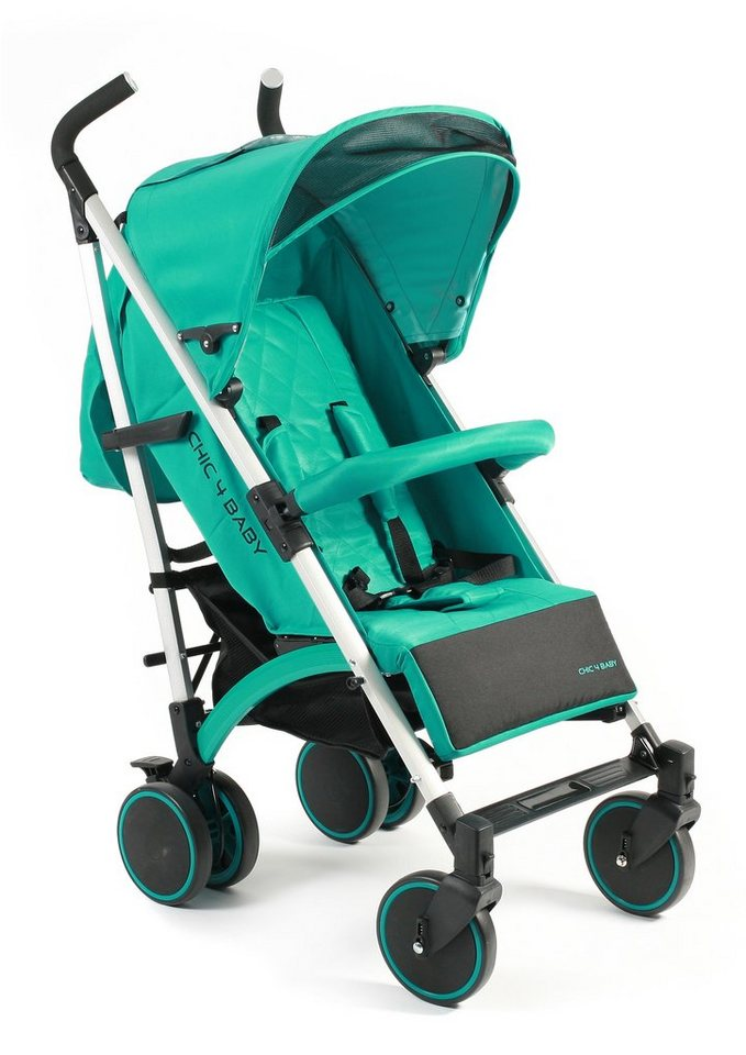 CHIC4BABY, Kinder-Buggy »Luca, mint«