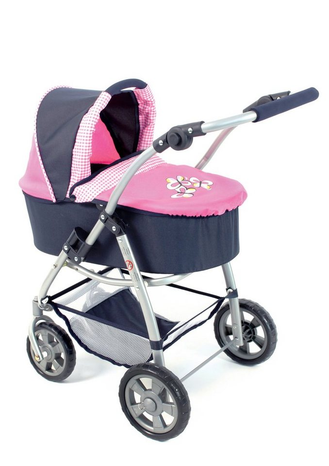 CHIC2000, 2 in 1 Puppenwagen »Emotion, rosa«