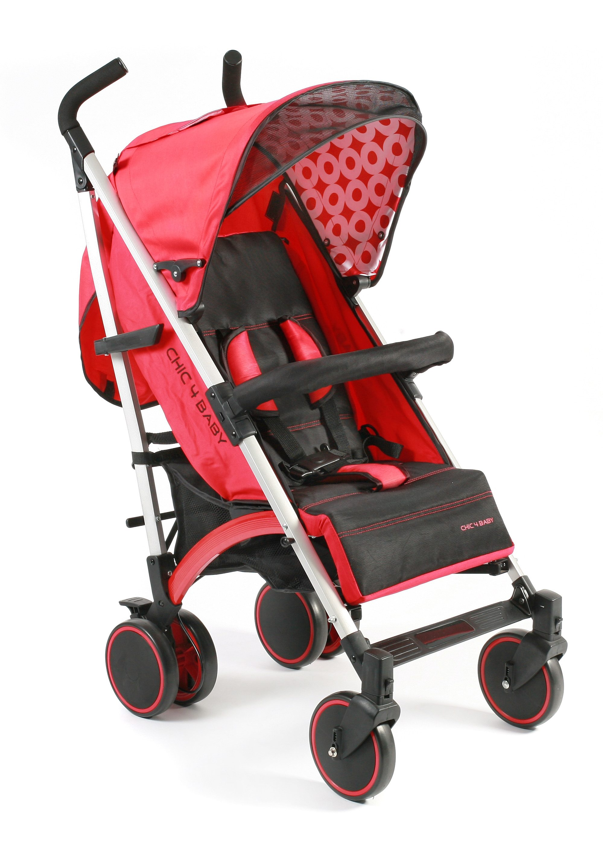 CHIC4BABY, Kinder-Buggy »Luca, rot«