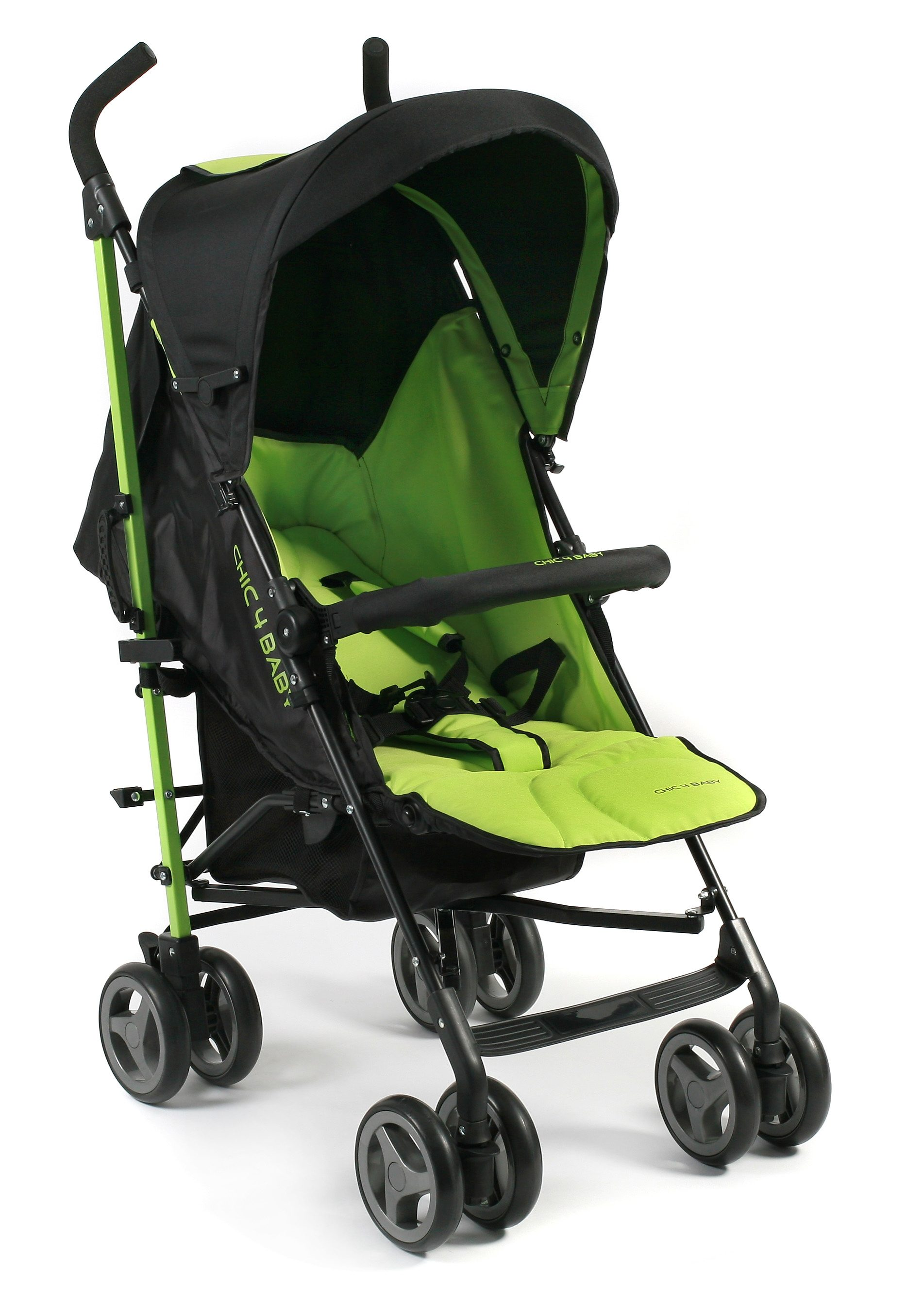 CHIC4BABY, Kinder-Buggy »Lido, lemongreen«