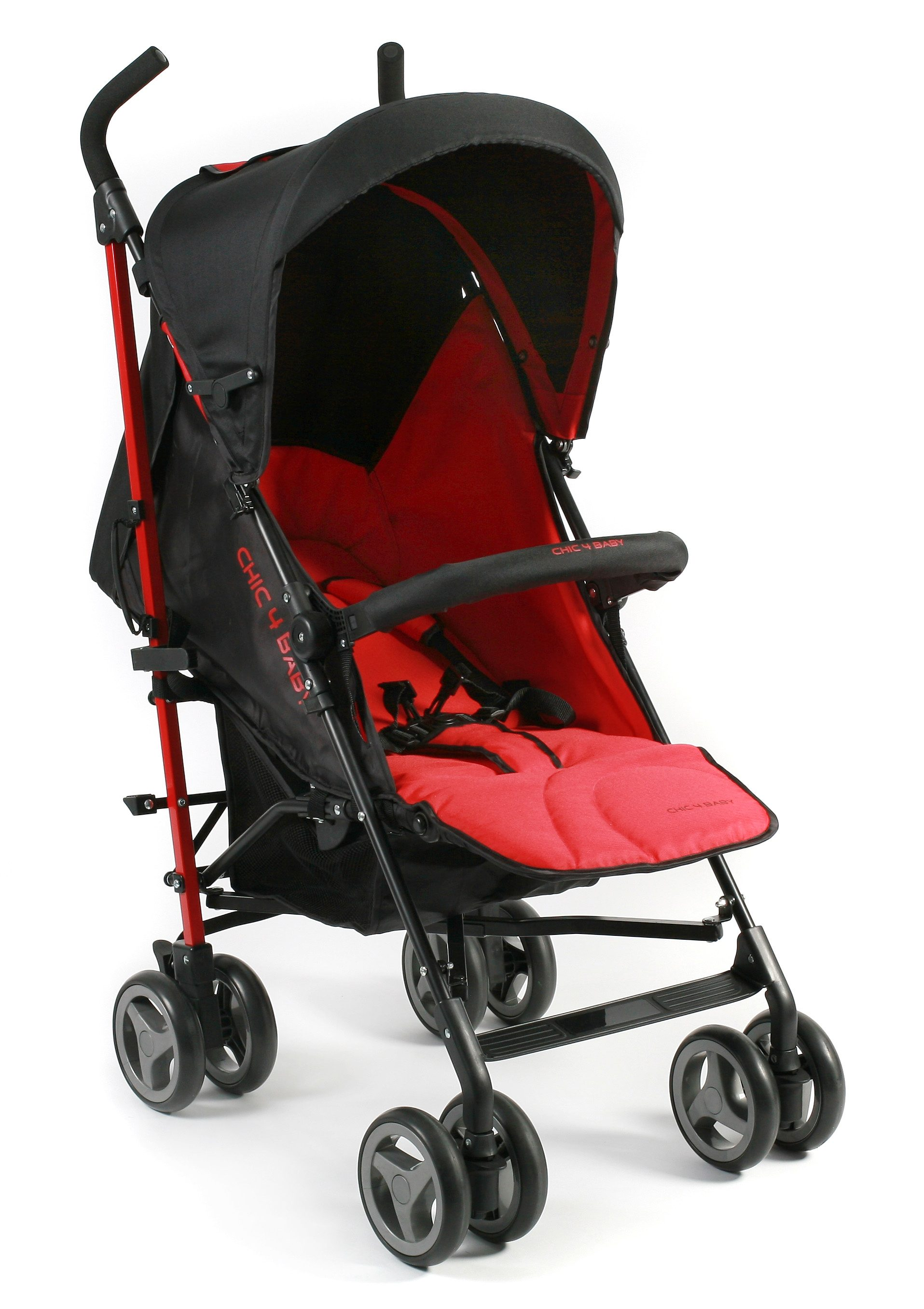 CHIC4BABY, Kinder-Buggy »Lido, rot«