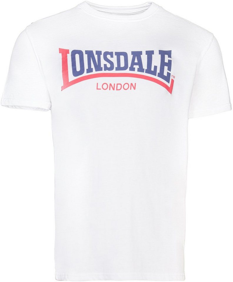 Lonsdale T-Shirt in White