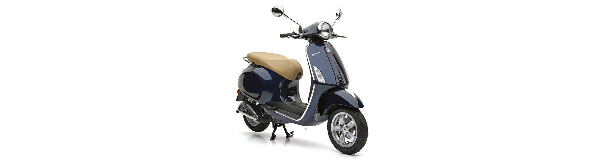 Mofaroller, 49 ccm, 4,35 PS, 25 km/h, dunkelblau, »Primavera«, Vespa