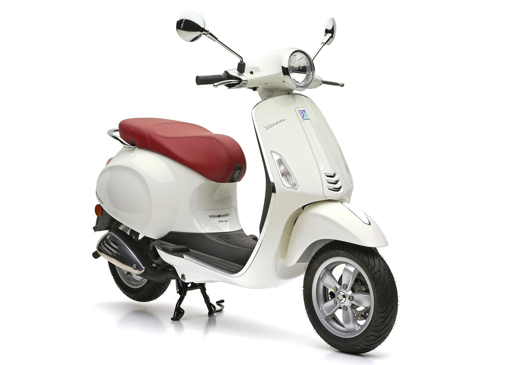 Motorroller, 49 ccm, 4,35 PS, 45 km/h, weiss, »Primavera«, Vespa